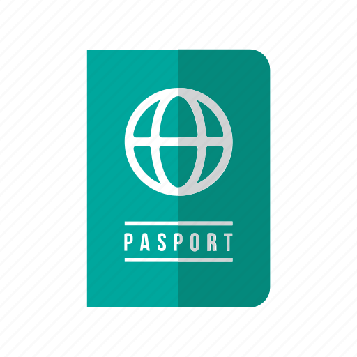 document, holiday, pasport, tourist, transport, travel, vacation icon