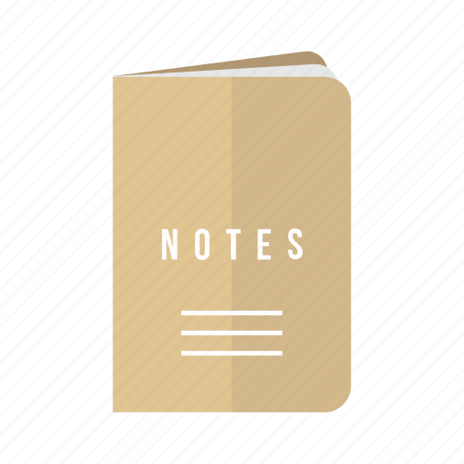 book, journal, note, notes, tourist, travel icon