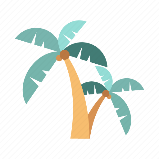 beach, holiday, palm, tourist, travel, tree, vacation icon
