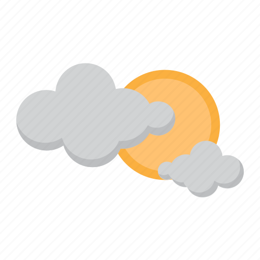 cloud, holiday, sky, sun, vacation, weather icon