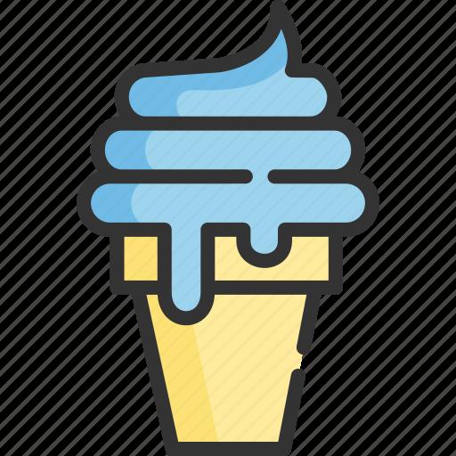 blueberry, desserts, ice, ice cream, tourism, travel, vacation icon