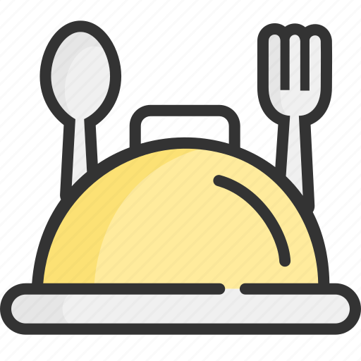 cover, food, gastronomy, kitchen, restaurant, tourism, travel icon