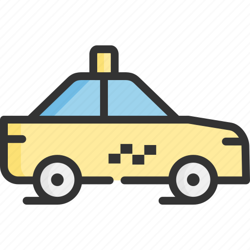 car, city, taxi, tourism, transportation, travel, vehicle icon