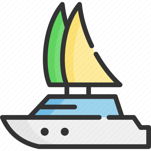 boat, ship, tourism, travel, vacation, vessel, yacht icon