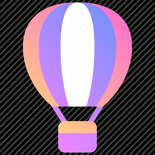 air, ballon, holiday, tourism, tourist, travel, vacation icon