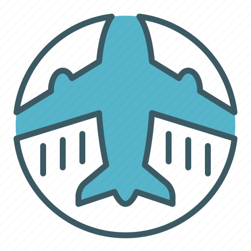airlines, airplane, flight, plane, sky, transport, travel icon