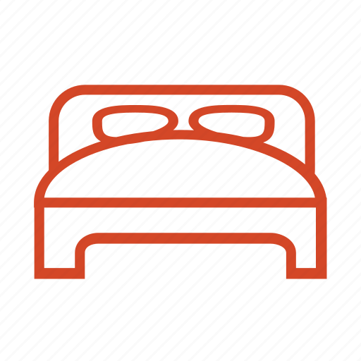 bed, booking, holliday, home, hotel, room, travel icon