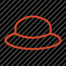 beach, cap, hat, holliday, summer, travel icon