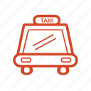 car, holliday, taxi, traffic, transport, transportation, travel icon