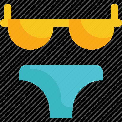 Bikini, clothes, fashion, sexy, travel, woman icon - Download on Iconfinder