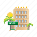 architecture, building, estate, hotel, real icon