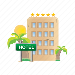 architecture, building, estate, hotel, real icon