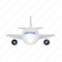 aeroplane, airplane, flight, fly, plane icon