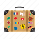 bag, briefcase, case, luggage, travel, vacation icon