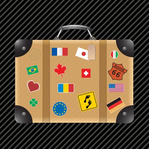 bag, briefcase, case, luggage, travel, vacation icon