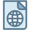 atlas, map, maps, passport, travel icon