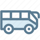bus, hotel, station, tour, transport, transportation, travel icon