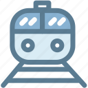 rail, rapid, train, tram, transportation, travel, well train icon