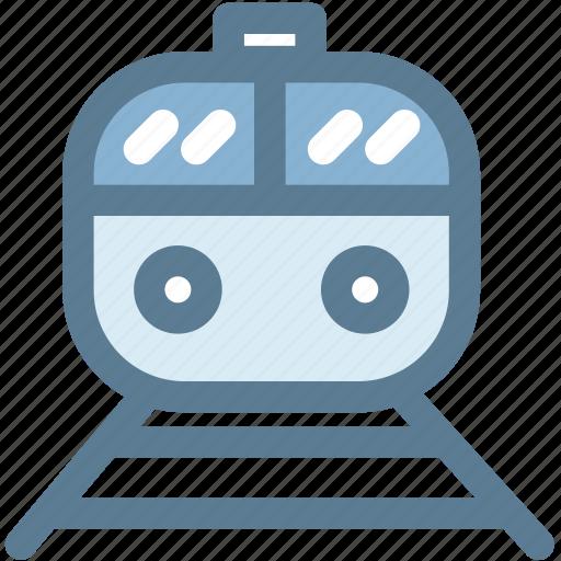 rail, rapid, train, tram, transportation, travel, well train icon