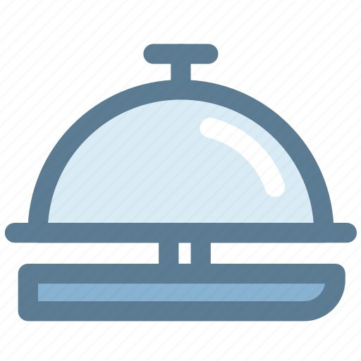 bell hop, ding, front desk, hotel, reception, reception bell, service icon