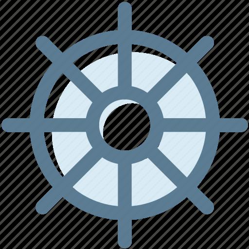 camping, hotel, sailor, ship, ship wheel, steering, steering wheel icon