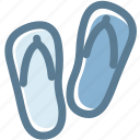 beach, flip flops, holiday, holidays, hotel, travel icon