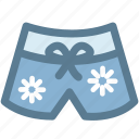 bathing suit, bottoms, camping, shorts, swim shorts, swim trunks, travel icon
