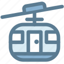 cable car, camping, lift, mountain, ropeway, transportation, travel icon