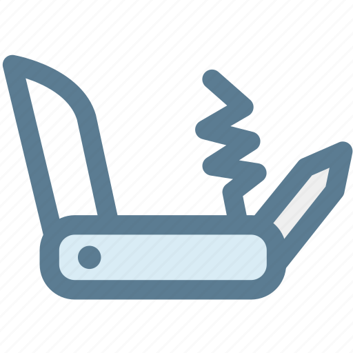 blade, camping, camping knife, handtool, knife, travel icon