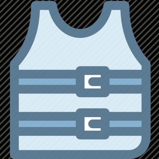 jacket, life jacket, protection, safety, secure, travel icon