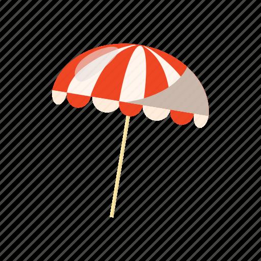 beach, cartoon, sea, summer, sun, umbrella, water icon