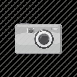 camera, cartoon, gray, photo, photographing, photography, technology icon