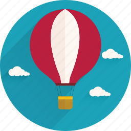 activities, baloon, outdoor, sport, transport, travel, vacation icon