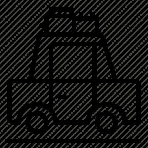 car, transport, travel icon