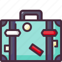 baggage, luggage, trip icon