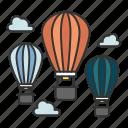 air, balloon, balloon air, flight, travel
