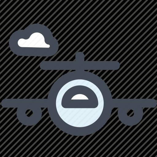 airplane, flight, fly, logistics, plane, transportation, travel icon