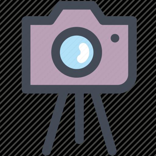 camera, memory, photo, picture, shoot, travel, tripod icon