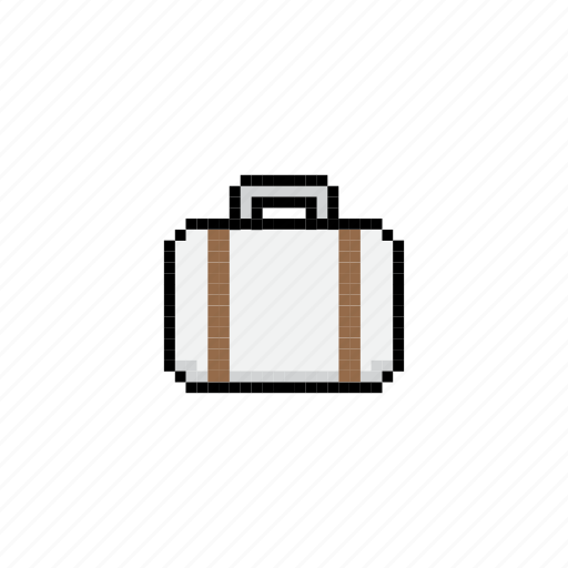 bag, case, equipment, illustration, suitcase, travel icon