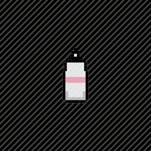 bottle, equipment, illustration, travel icon