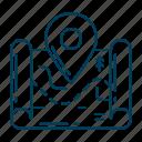 location, map, navigation, travel icon