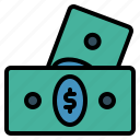 currency, holiday, journey, money, travel, vacation icon
