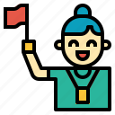 guide, job icon
