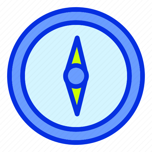 alarm, clock, compass, time, timer, travel, vacation icon