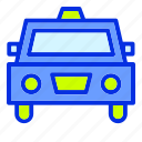 car, holiday, taxi, transport, transportation, travel, vacation icon