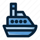 boat, cruise, cruise ship, ship, transport, travel, vessel