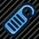do not disturb, door hanger, door sign, doorknob, hotel, privacy icon