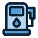 energy, fuel, fuel station, gas, gas pump, gas station, gasoline icon