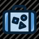 bag, briefcase, luggage, suitcase, travel, trip, vacation