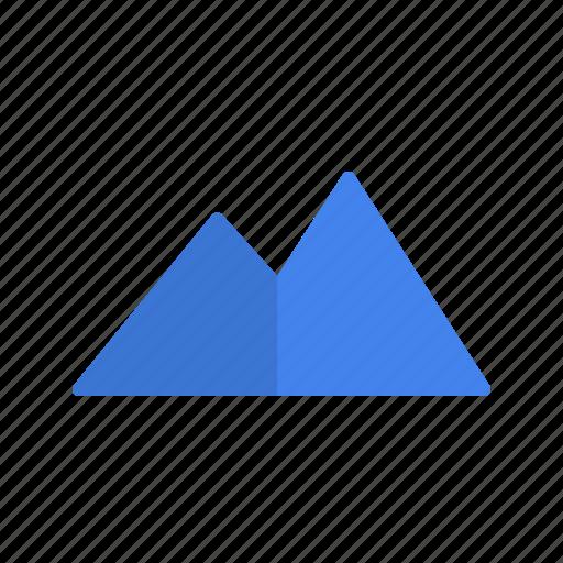 destination, holiday, mountain, vacation icon